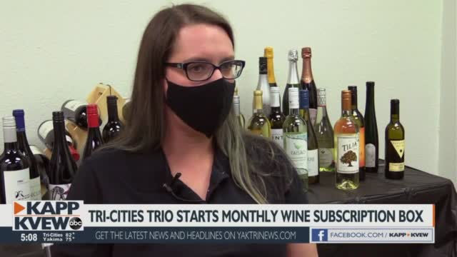 Pasco Trio Starts First Wine Subscription Box For Tri Cities