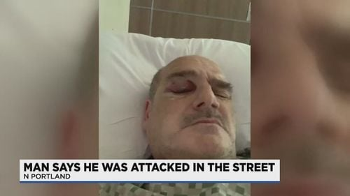 Man Says Crowd Of Portland Marchers Surrounded, Assaulted Him