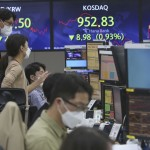 Asian Shares Mixed After Strong Earnings, Data Lift Wall St