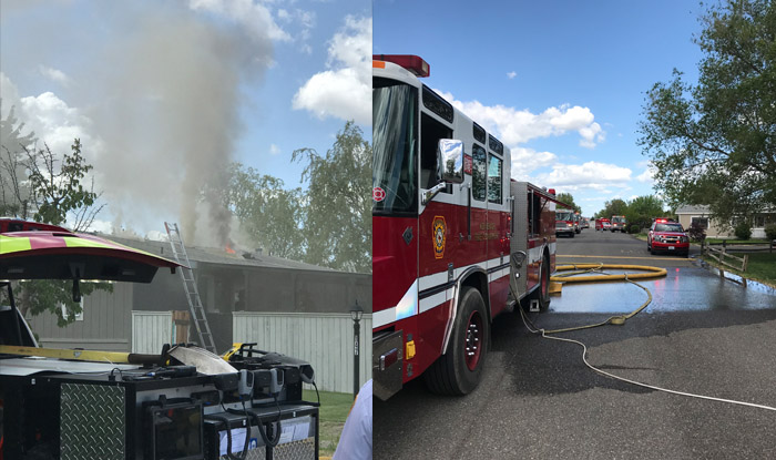 Tri-Cities fire crews put out unintentional kitchen fire at residential home