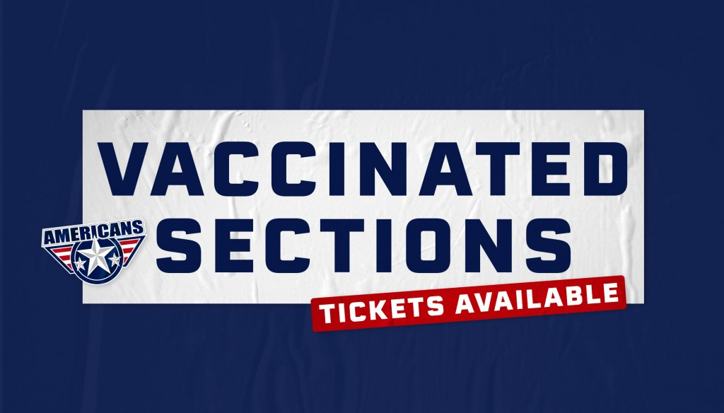 Tri-City Americans open vaccinated section at Toyota Center