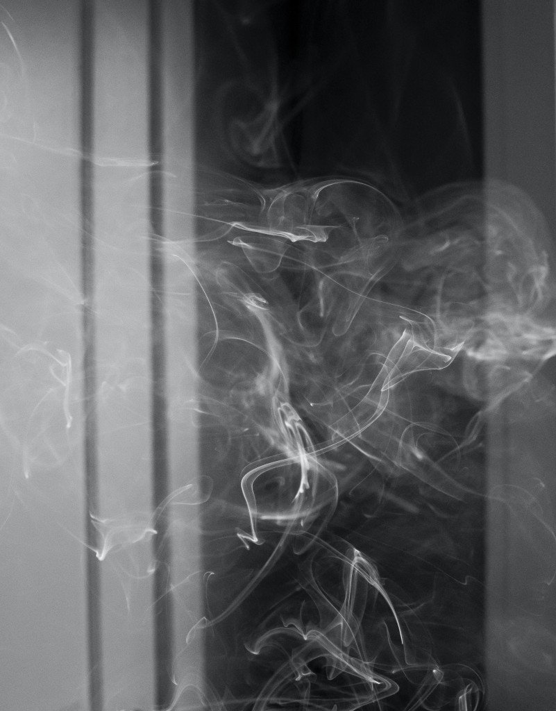 Smoke In Front Of Window