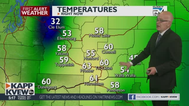 First Alert Weather Friday May 7th