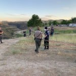 Multiple agencies respond to assist rescue efforts for injured hiker