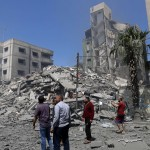 The Latest: Israeli Jets Stages Heaving Strikes In Gaza City