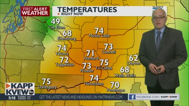 First Alert Weather Tuesday May 4th