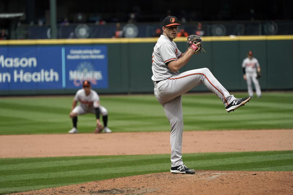 Mariners shut out 0-6 in Orioles' first no-hitter since 1969