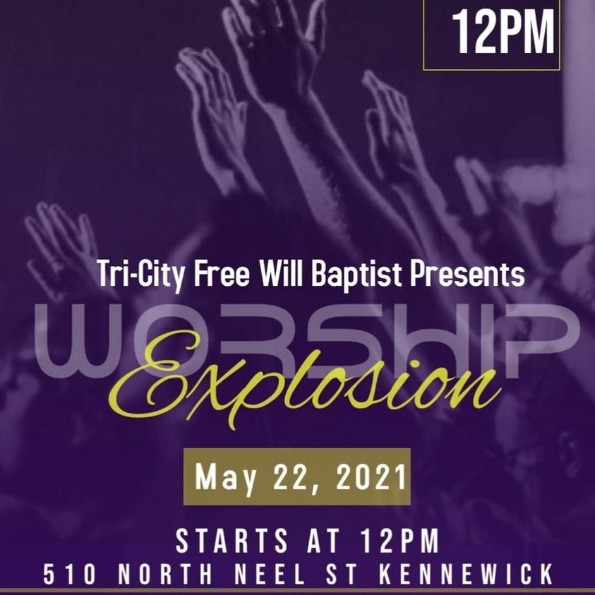 Worship Explosion event flyer