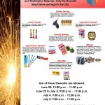 Pasco Fireworks Rules