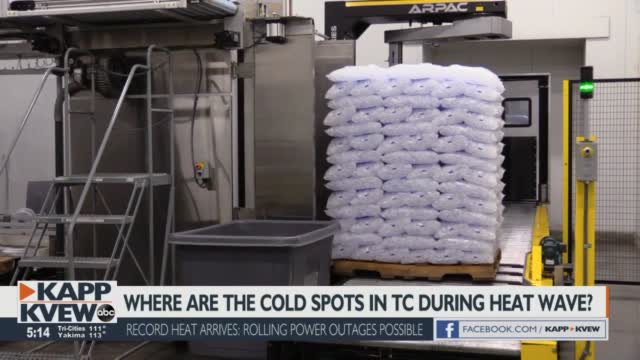 Coldest Spots In The Tri Cities During A Heatwave