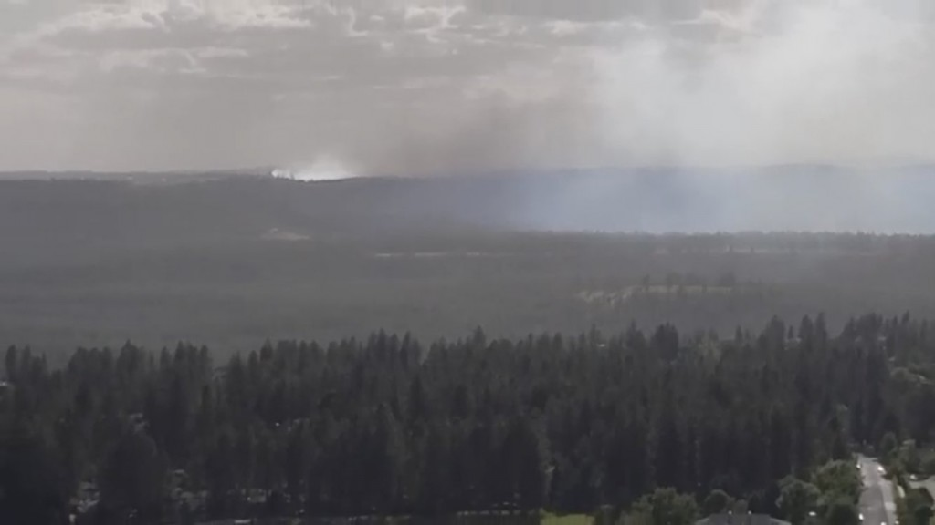 Evacuations Lifted For Janes Fire In Northwest Spokane, 80 Acres Burned