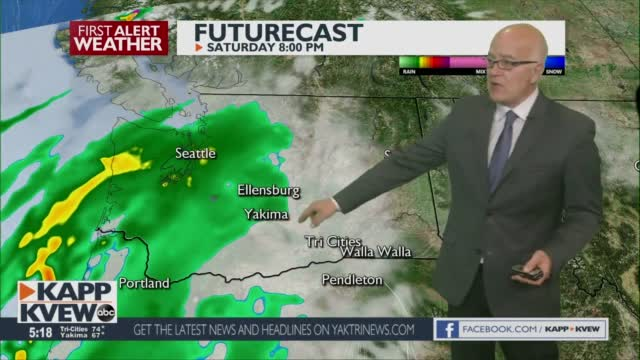 Your Weekend Will Be Warmer, And Occasionally Wet With Possible T Storms Sunday Night Jason