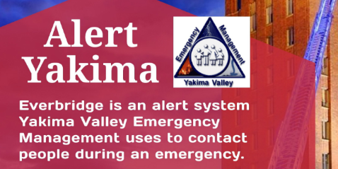 Yakima Emergency Management alerts can save lives in the county