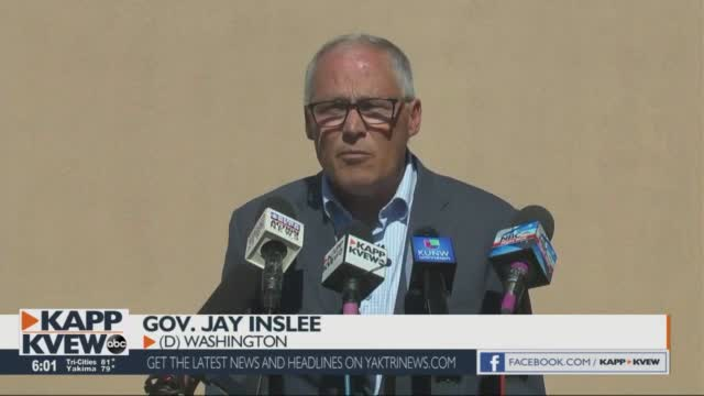 Gov. Inslee Visits The Tri Cities