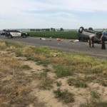 Rollover car accident on Columbia River Rd leaves driver injured