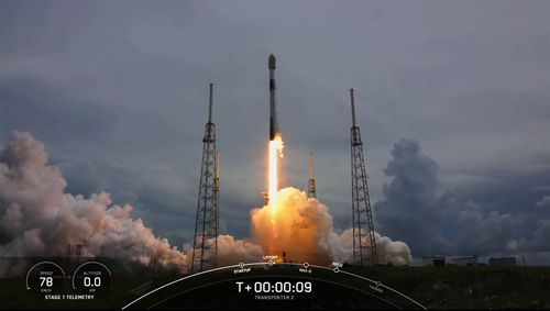 Spacex Launches 88 Satellites In Rideshare Mission