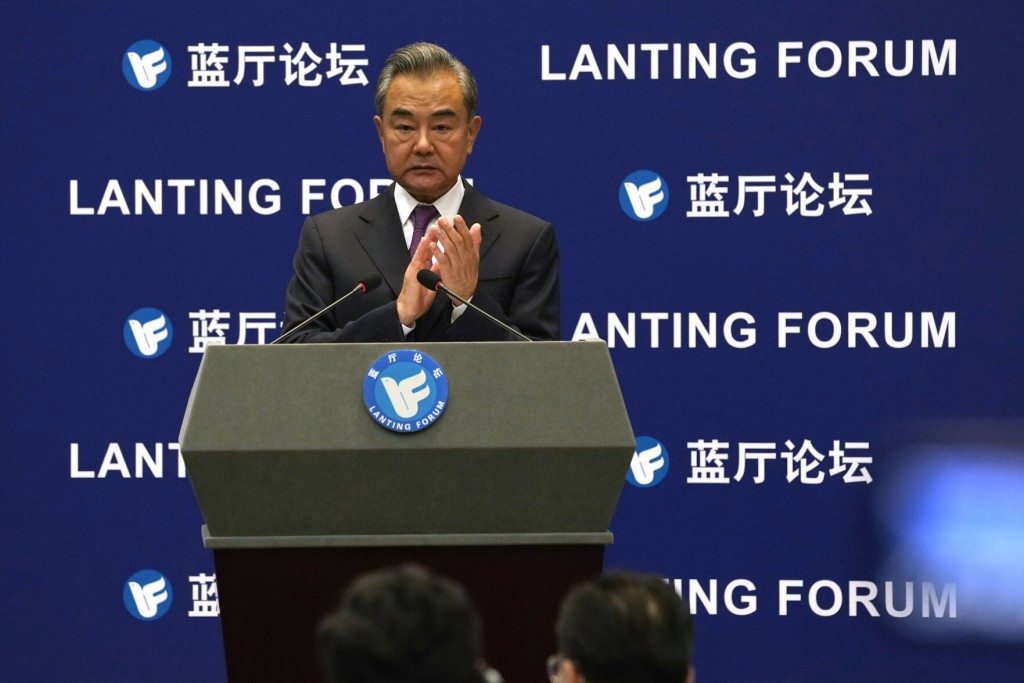 China Touts Role In Un Peacekeeping, Middle East Peace