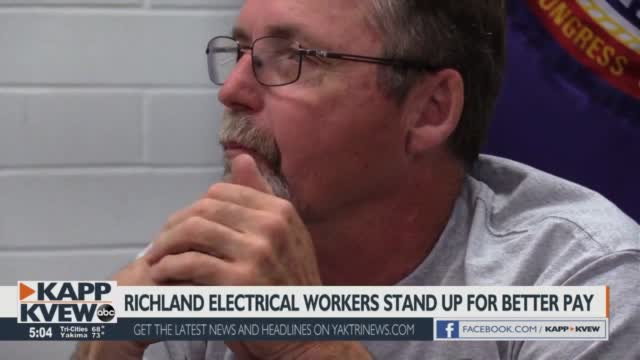 Richland Line Workers Start Initiative For Better Wages