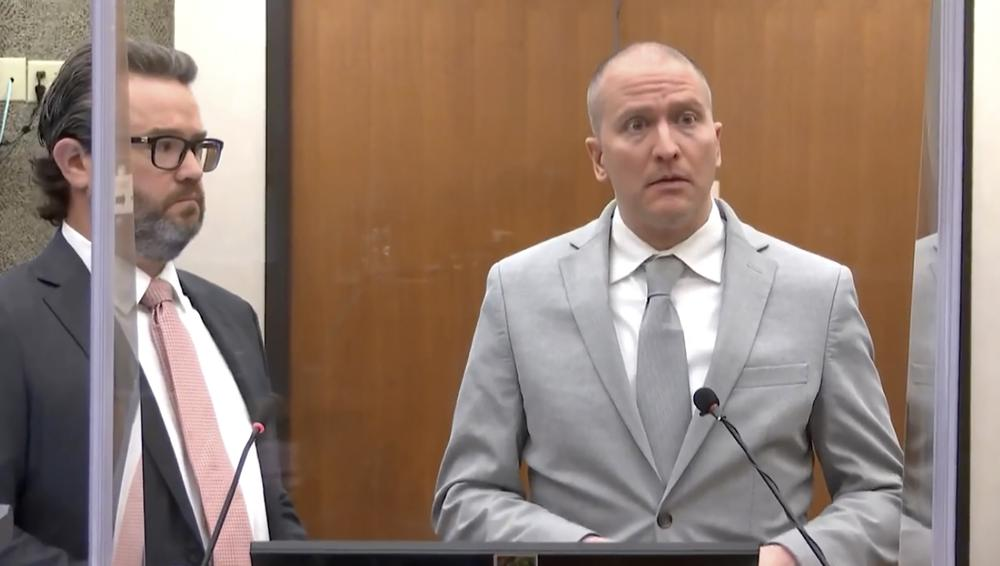 Chauvin gets 22 1/2 years in prison for George Floyd's death