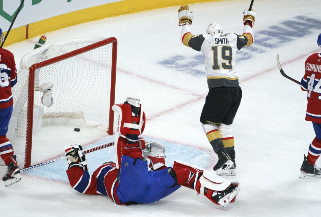 Canadiens Return To Cup Final After 3 2 Ot Win Over Vegas