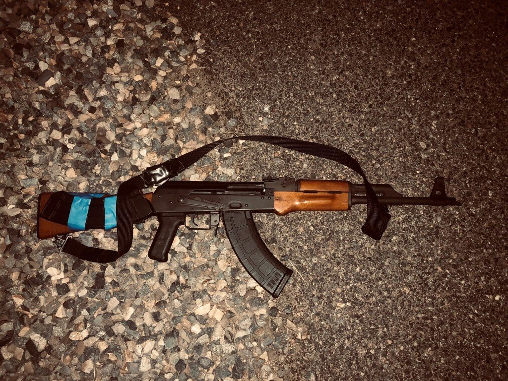 Pasco Police arrest woman with AK-47