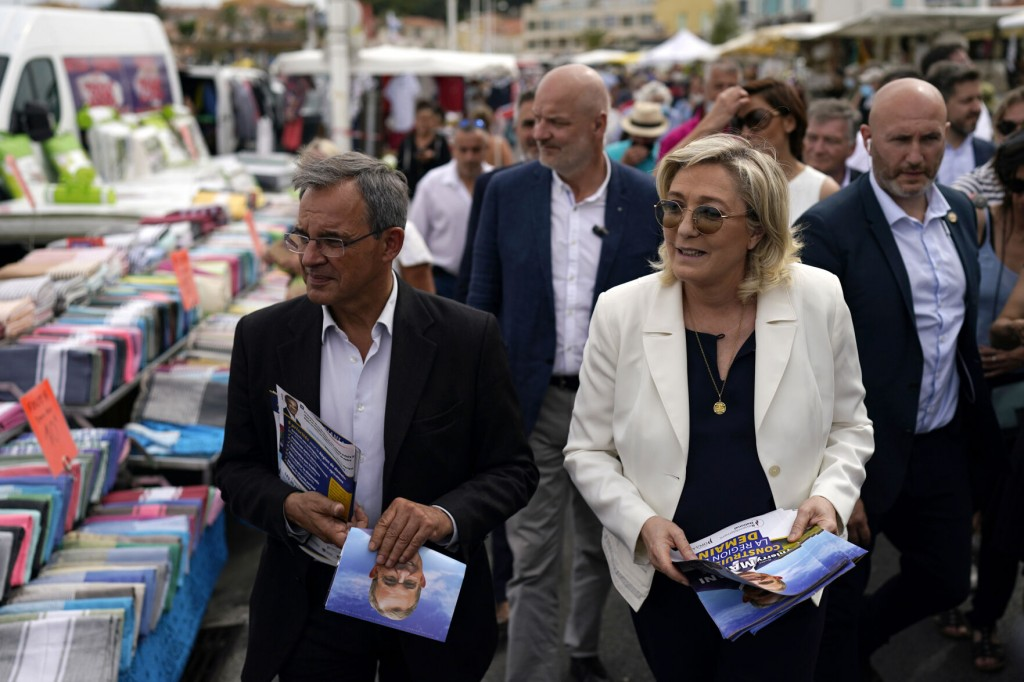 Riviera Campaign Is Key To Hopes Of France's Far Right Party