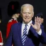 The Latest: Bidens To Have Sunday Tea With The Queen
