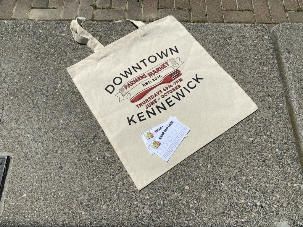 Downtown Kennewick Farmer's Market Swag Bag Tote