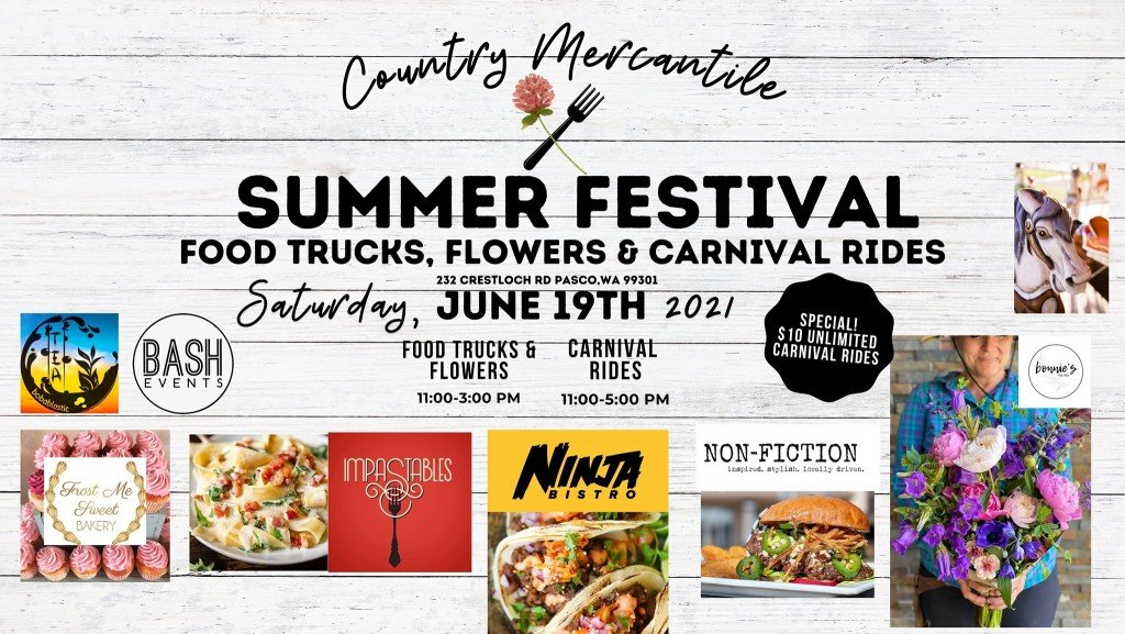 Summer Festival by Country Mercantile kicks off Saturday in Pasco
