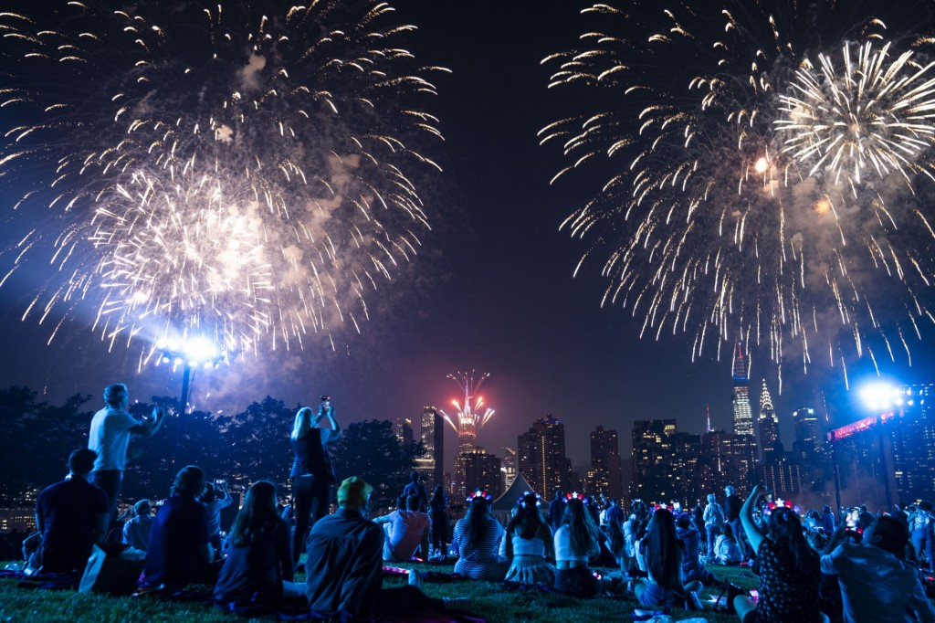 Hot Dog! Nyc Marks July 4 With Eating Contest, Fireworks