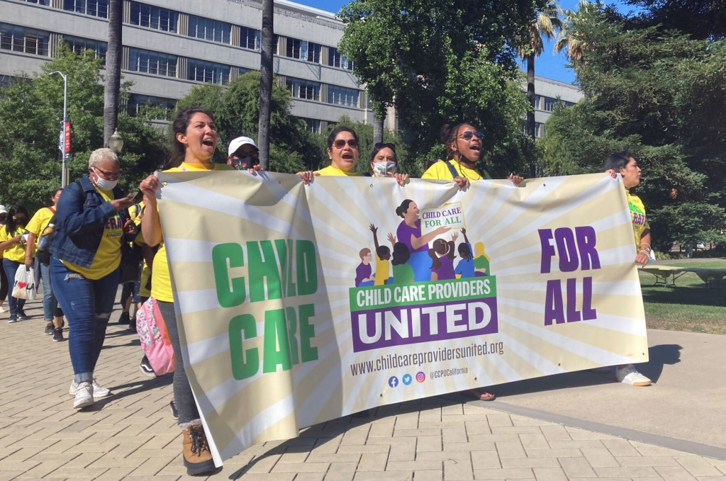 California Inks Contract With New 40k Member Childcare Union