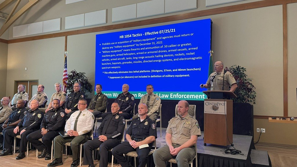 Eastern Washington Law Enforcement Leaders Concerned About New Reform Laws