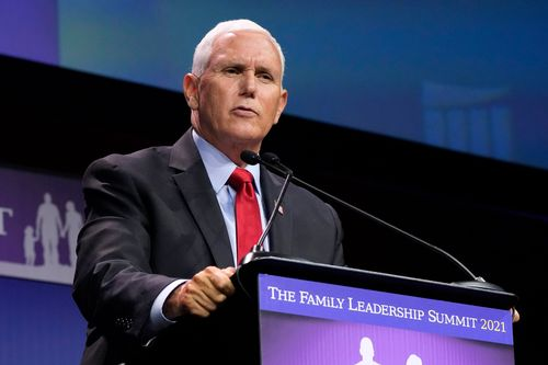 Pence Says He's 'had Enough' Of Biden As He Looks To Escape Trump's Shadow In Iowa