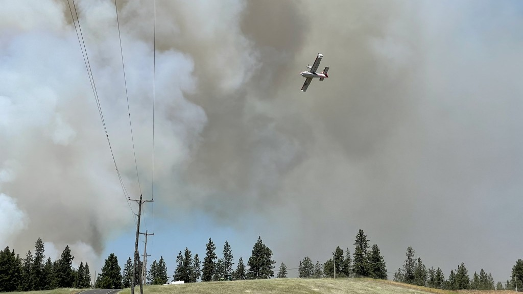 Nearly $1m In Federal Funds Approved To Help Fight Andrus Fire