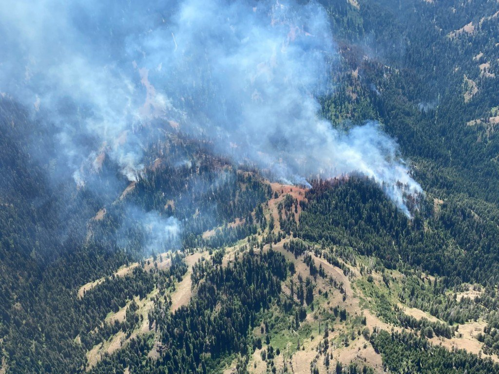 Green Ridge Fire 15% contained across 330+ acres of Umatilla National Forest
