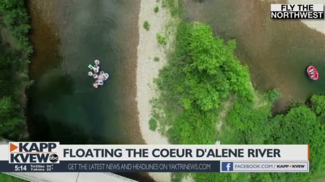Fly The Northwest Floating The Coeur D'alene River