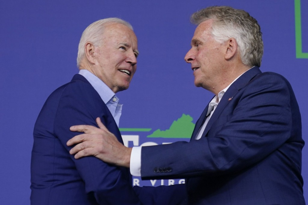 Biden Stumps For Mcauliffe In Early Test Of Political Clout