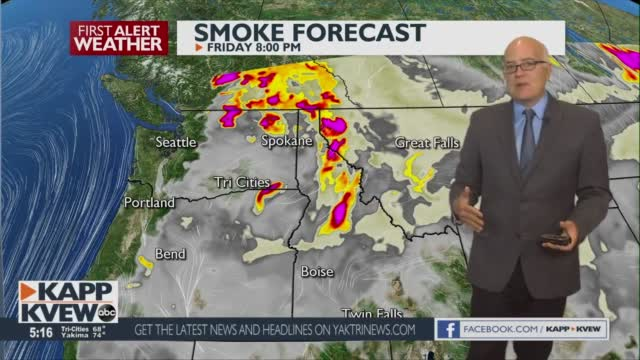 Hot Temps, More Smoke, And Shower Activity This Weekend Jason