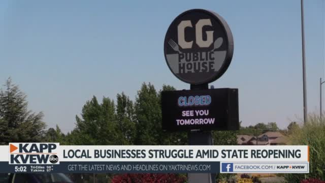 Kennewick Business Shares Struggles Amid Full Reopening Of State
