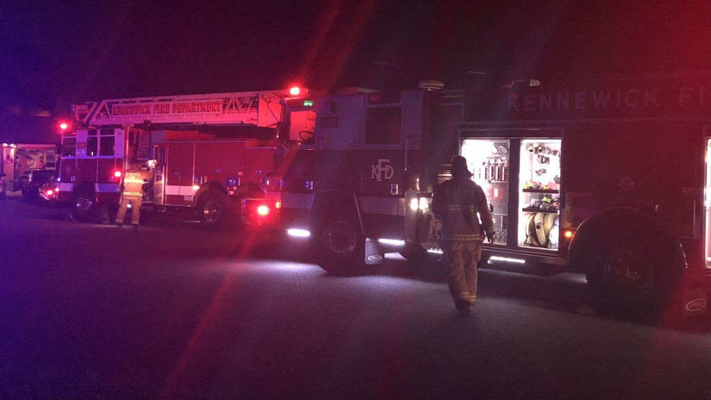 One person cited for fireworks in Kennewick after tree, shed catch fire