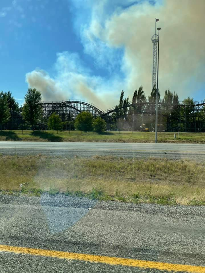 Firefighters Responding To Wildfire Near Silverwood, Prompting Evacuations