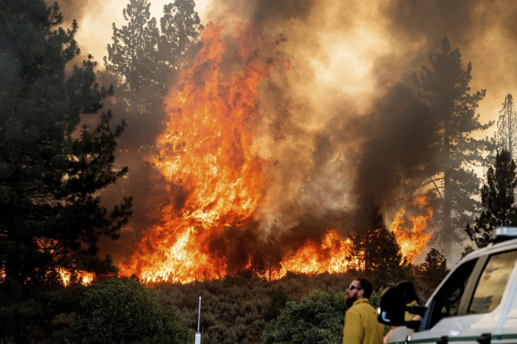 Heat Wave Rolls Across Us West; Wildfires Rage In Several States