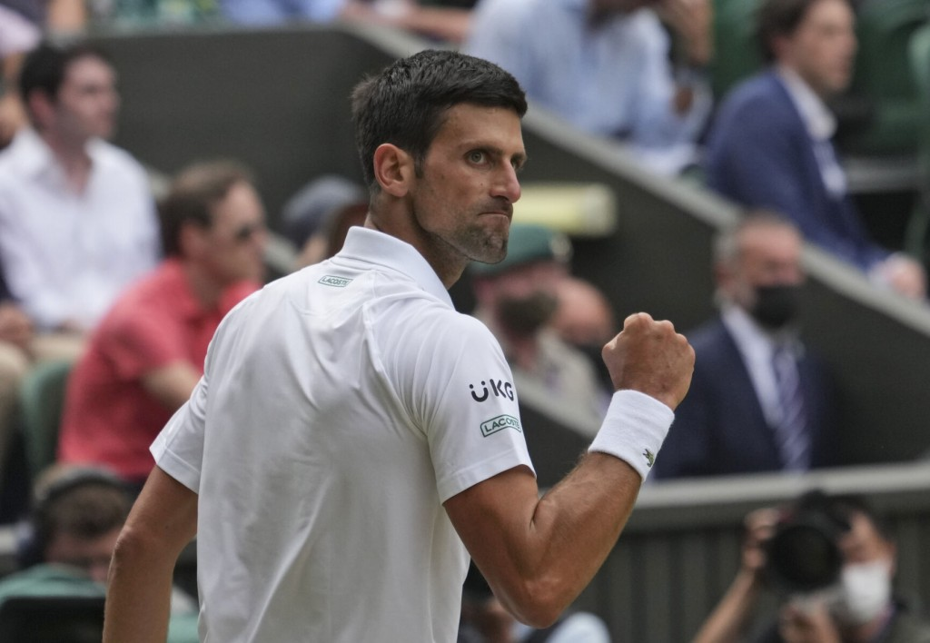 Djokovic Wins Wimbledon To Tie Federer, Nadal With 20 Grand Slam Titles