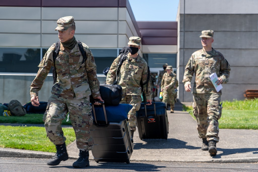 Oregon National Guard deployed to aid wildfire efforts