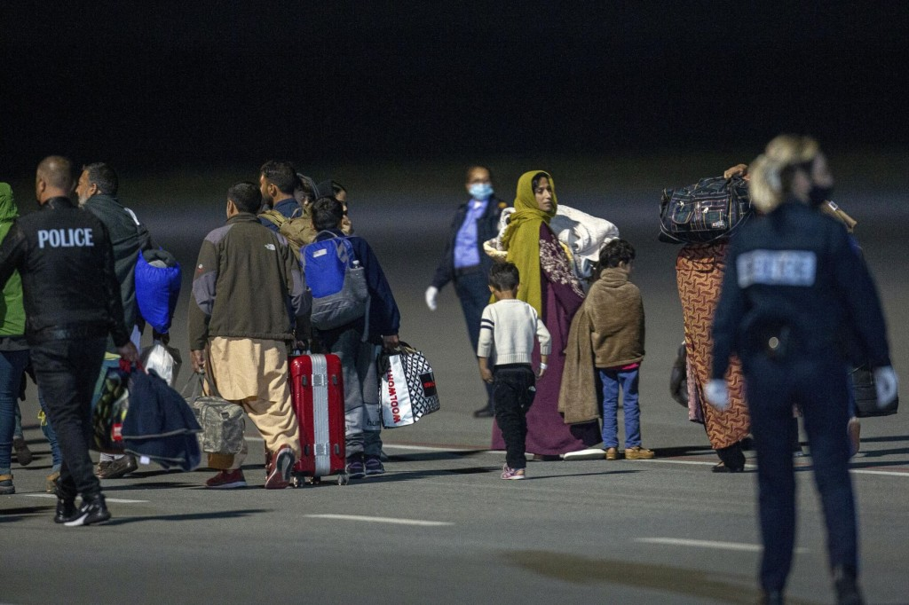 The Latest: 150 More Afghan Evacuees Arrive In Albania