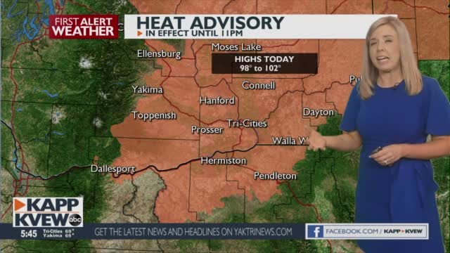 Hot And Hazy Conditions Continue With Cooler Temps And Possible Showers Into The Weekend Briana