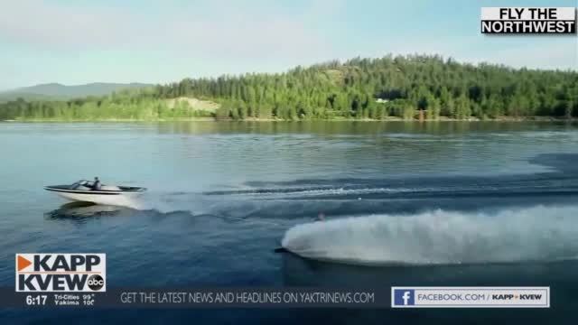Fly The Northwest Water Skiing At Lake Pend Oreille