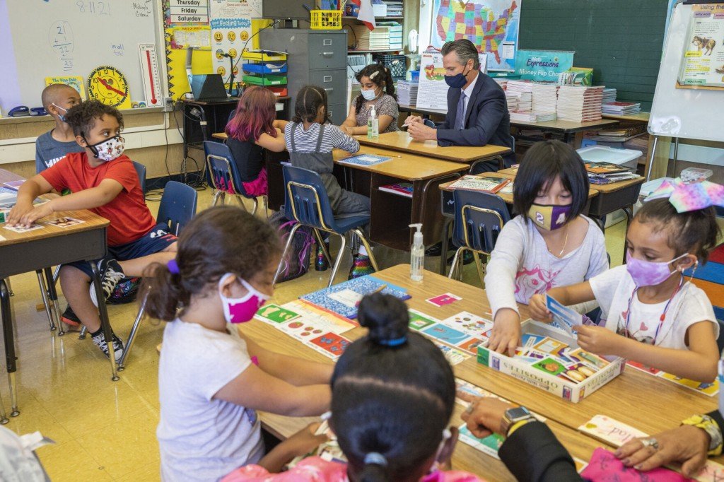 School Mask, Vaccine Mandates Supported In Us: Ap Norc Poll