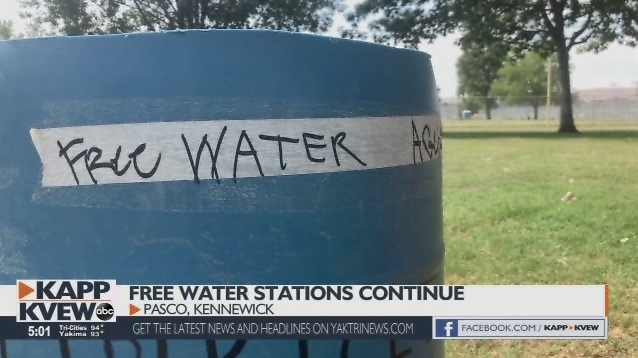 Free Water Stations