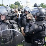 In Edgy Washington, Police Outnumber Jan. 6 Protesters